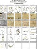 De Juwelen van de Manier van de Steen van de kleur 925 Zilveren Echte Oorringen van de Halsband Geplaatst Juwelen S3376