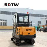 Tw22A Sdtw мини-экскаватор 2200 кг экскаватор ноль задние маленький экскаватор