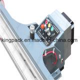 Máquina de aluminio superventas del lacre del pie del marco para la bolsa de plástico