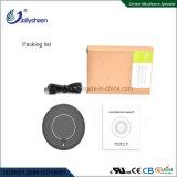 デスクトップの情報処理機能をもったコイルの無線充電器のスマートな無線充電器の銀ハウジングを選抜する