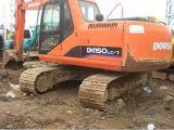 Utilisé Doosan Dh excavatrice150-7 faite en Corée