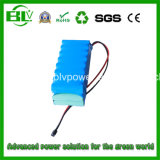Emergency Battery, UPS Battery를 위한 백업 Battery 24V 8.8ah 6s4p Icr 18650 Battery Pack