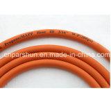5/16 Inch (8mm) Tubo de gás de borracha flexível de laranja de alta qualidade