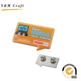 Pin de epoxy de la solapa del metal de la impresión