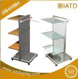 L'étage en acier de détail en métal de système de Retaill usine le présentoir