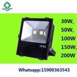 indicatore luminoso esterno del riflettore dell'indicatore luminoso di inondazione di 30W 50W 100W LED