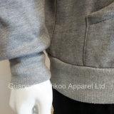 Изготовленный на заказ пуловер Hoodies хлопка печатание шелковой ширмы
