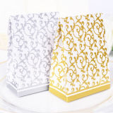 Творческие Свадебное шоколадные конфеты подарочные коробки бумаги