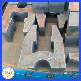 Zoll-Schnitt-Qualitäts-heißer Verkauf kaltgewalzte Stahlplatte
