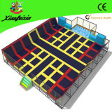 Safety Net (3518-1C)の屋内Adult Big Jumping Trampoline