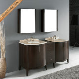 Cabinet rond de vanité de salle de bains