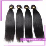 Weave человеческих волос 100% сырцовый Remy естественный перуанский