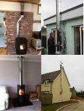 Gas-Dampfkessel-Kamin-Kamin-Rohr