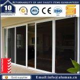 Двойные стекла на алюминиевые раздвижные двери тепловой изоляции панели с помощью сертификата