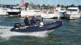 Aqualand 15feet 4.5m 엄밀한 팽창식 모터 배 또는 늑골 급강하 배 또는 스포츠 급강하하거나 구조 또는 경비 (rib450t)