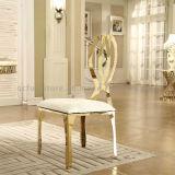 椅子を食事する現代宴会のステンレス鋼
