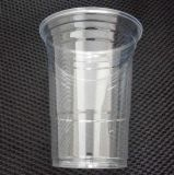 Customed 로고를 가진 당을%s 직접 공장 도매 16oz 450ml 처분할 수 있는 투명한 명확한 애완 동물 플라스틱 컵