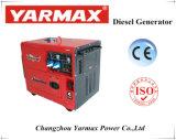Generatore diesel portatile silenzioso eccellente di Yarmax raffreddato aria