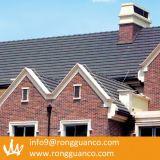 회색 색깔 맞물리는 물 증거 찰흙 지붕