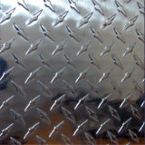 Feuille en aluminium Checkered avec 3 barres