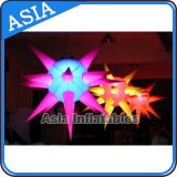 Wedding Decoration를 위한 공장 Direct Special Inflatable Lighting Star