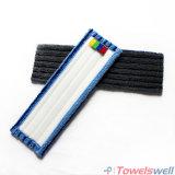 Microfiber durable bleu frottant la lavette à plat humide