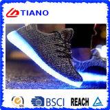 2017 zapatos cambiables corrientes coloridos de la luz del color del nuevo estilo (TNK90001)