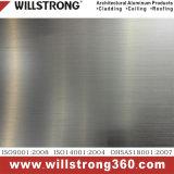 Willstrong neues Pinsel-Ende-zusammengesetztes Aluminiumpanel