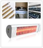 Aquecedor Infreard rápido aquecedor radiante aquecedor de quartzo ajustável a luz