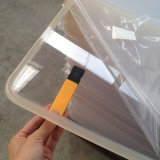 Annonce de vente chaude clair feuille acrylique transparente