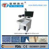 Tischplatten-CO2 Laser-Markierungs-Maschine für Gewebe, Leder, Gewebe