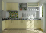 高品質の現代木の食器棚