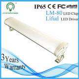 Garagem à prova de iluminação 30watt LED Lâmpada Triproof 600mm