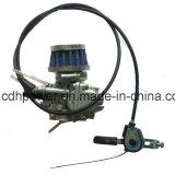 Silenciador grande de la boca 40m m de Cdh66-Pk80/Silver del producto de la boca del kit delantero grande del motor