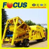75cbm/H pianta d'ammucchiamento concreta mobile, stazione mescolantesi concreta mobile Yhzs75