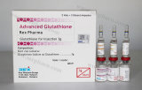 Glutathione van Gsh Injectie 1900mg (8+8+10 voor Huid die de Verlichting van het Lichaam witten