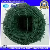 機密保護のための高い抗張電流を通されたPVC上塗を施してあるとげがある鉄ワイヤー