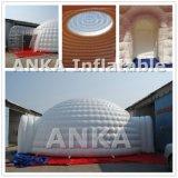 Большой рекламы надувной купол палатка прозрачной верхней части