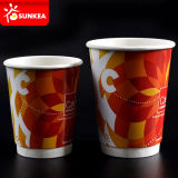 Двойной бумажный стаканчик стены для горячего питья