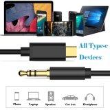 Type C aan 3.5mm AudioAux Jack Adapter USB C Male aan 3.5mm de Mannelijke Kabel van de Adapter van het Koord van de Hoofdtelefoon van de Uitbreiding Audio Stereo