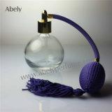 High End botellas de perfume con la marca azul de la vendimia