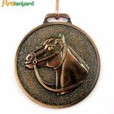 Горячая продажа литой серебряной медали высшего качества
