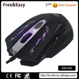 Colorido LED Backlit 6D USB Wired Computer Game Mouse