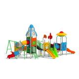Parque Infantil exterior de plástico para crianças e crianças (JYG-035-2)