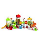 Parque Infantil exterior de plástico para crianças e crianças (JYG-15019)