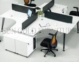 Vice-gabinete com estação de trabalho da equipe de melamina Pulley (SZ-WSL306)