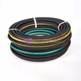 Huntpower trenzado textil de la manguera hidráulica SAE 100 R3