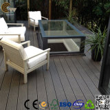 Decking composé bon marché Anti-UV de la Chine de qualité