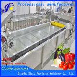 Secador industrial do vegetal da máquina de corte da batata da máquina de lavar do gengibre