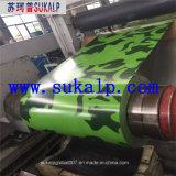 Motif imprimé bobine d'acier prépeint